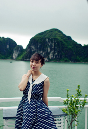 Angélique Gross Halong Bay